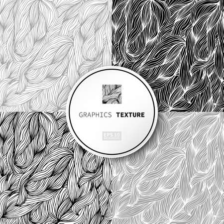 embossing: Graphics texture wave. The image can be used in your business as a background, wallpaper, template, tiles, embossing Illustration