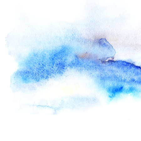 Watercolor stain. The image can be used in the design of the element, as well as the constituent part of the Stock Photo