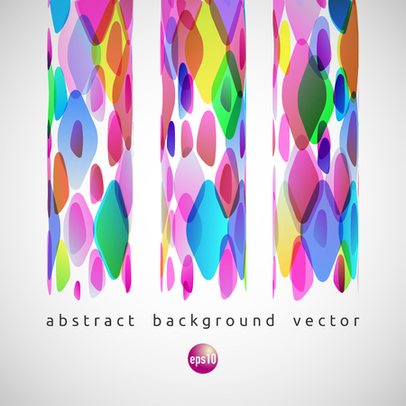 rhomb: Vector abstract background of color diamonds. Illustration with rhomb.