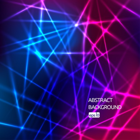 blue gradient: colorful abstract background with shiny strips Illustration