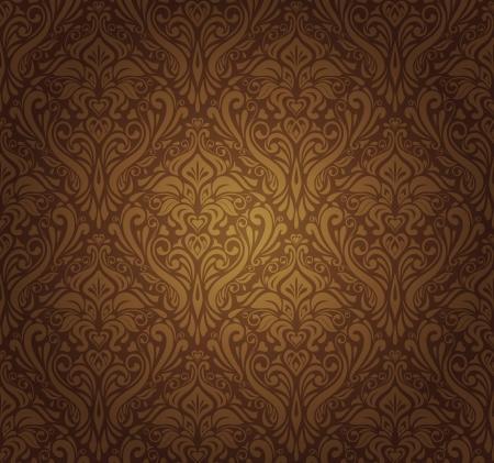 koyu kahverengi duvar kağıdı tasarımı Illustration