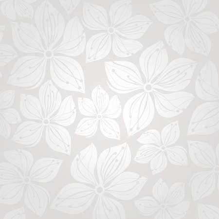 floral wedding invitation background Vector
