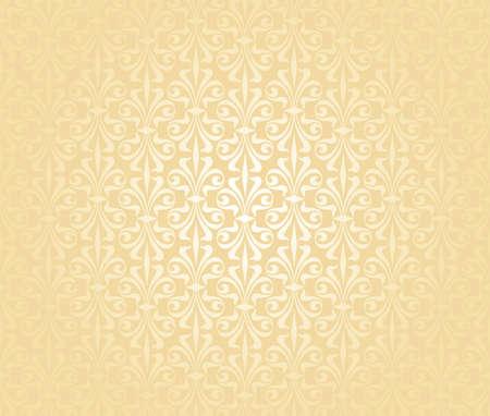 gentle  peach  vintage wallpaper Stock Vector - 18684058