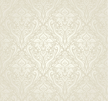 pale: bright luxury vintage wallpaper Illustration