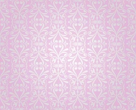 amazing wallpaper: rosa d'argento d'epoca sfondo sfondo design Vettoriali
