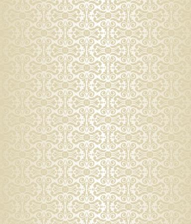 Helle Luxus-Weinlesetapete Standard-Bild - 18764432