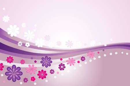 pink valentine s card background Vector