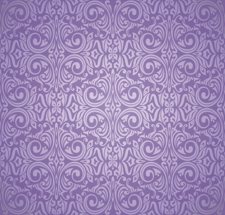 violet and silver  luxury vintage wallpaper Vector