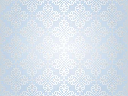 mavi gümüş Yılbaşı s arka plan
