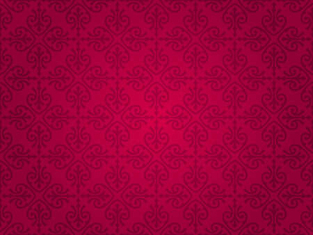 red  vintage wallpaper  Stock Vector - 18866332