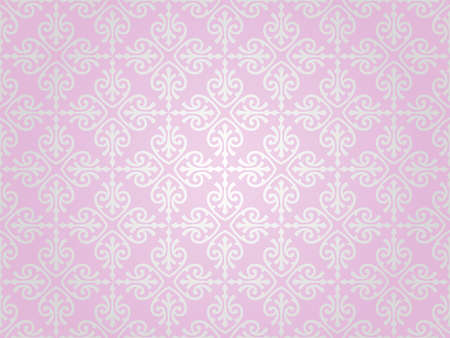 pink    silver vintage wallpaper background design Stock Vector - 18866324