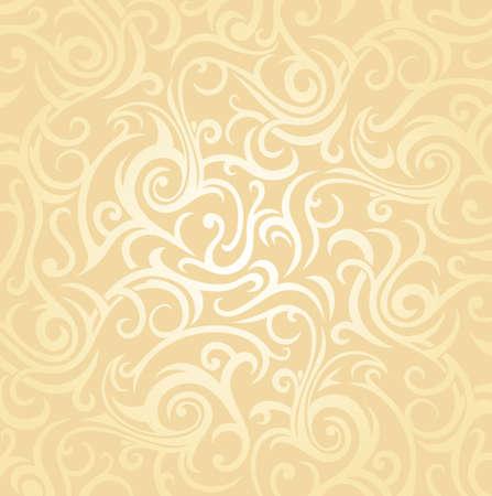 gentle wedding pale peach invitation  background design Vector