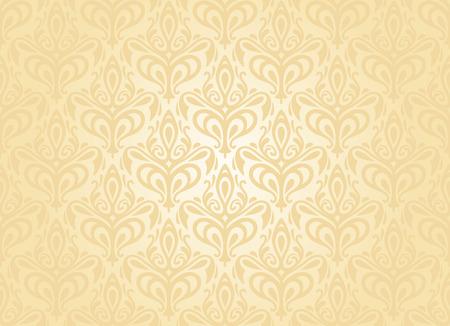 穏やかな桃の招待状の背景  イラスト・ベクター素材