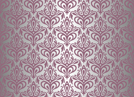 silver   pink wallpaper background Vector