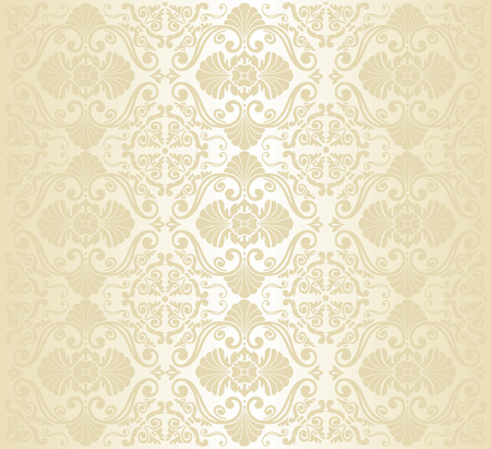gold vintage wallpaper design