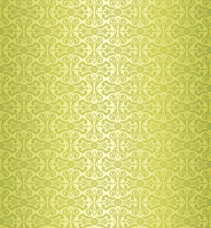 old paper: green holiday vintage wallpaper design background