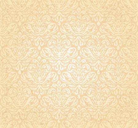 Vintage gentle wedding pale peach grunge background design Illustration