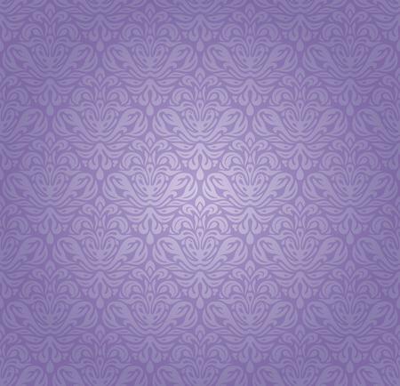 flor morada: El dise�o vintage violeta de fondo transparente Vectores