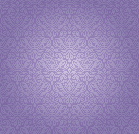 purple silk: Violet vintage seamless pattern background design