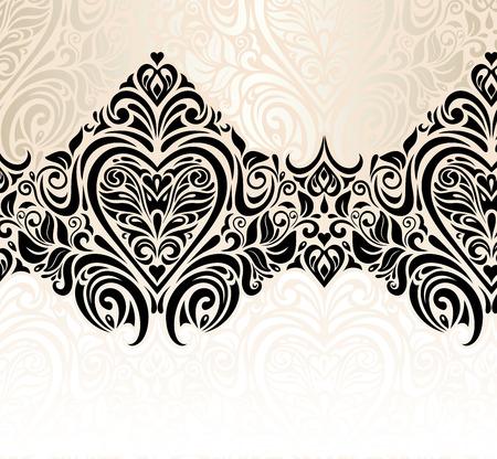 Düğün bağbozumu dekoratif çiçek davetiye arka plan tasarımı