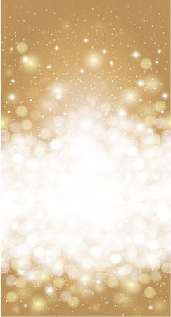 blurr: Shiny blurred gold holiday invitation card background design