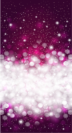 extravagant: Shiny blurred dark violet holiday background design Illustration