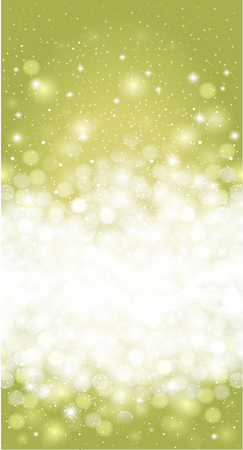 blanc: Green spring easter holiday card background design