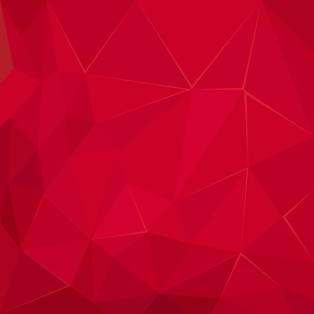 3 d glasses: Abstract polygonal geometric vector Red  facet background wallpaper illustration Illustration