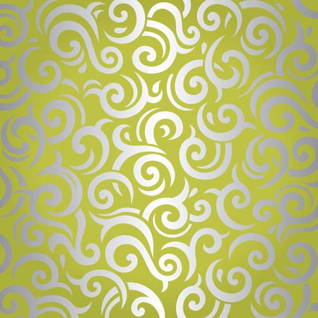 Green zilver voor wijnoogst retro design
