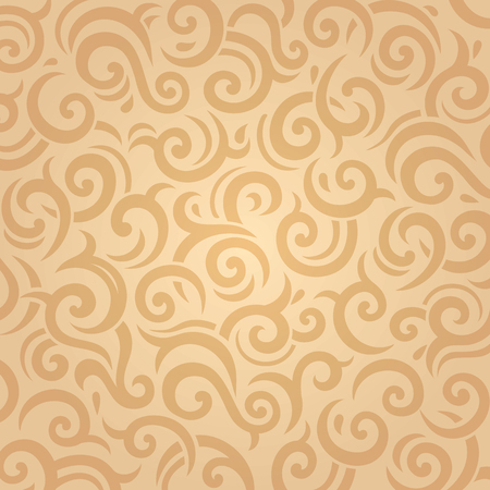pale ocher: Pale retro ocher ecru vector vintage background design Illustration
