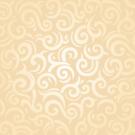 retro backgrounds: Gentle wedding pale peach retro invitation vector pattern background design Illustration