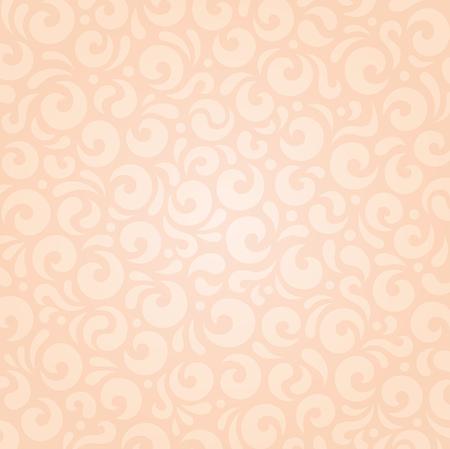 ecru: Retro wedding floral Ecru beige holiday vintage invitation background wallpaper design