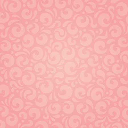 Retro pink holiday decorative vector wallpaper design Illustration