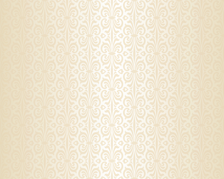 Bright wedding beige luxury vintage wallpaper background pattern