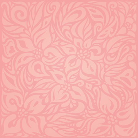 Floral Pink vector wallpaper design background
