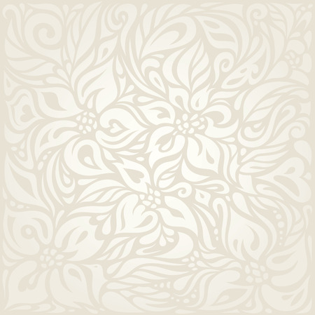 Wedding Floral pale wallpaper pattern design background