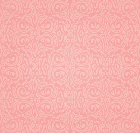 Pink vector wallpaper design background Stock Illustratie