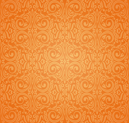 Orange colorful wallpaper background