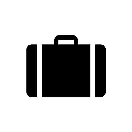 baggage icon vector