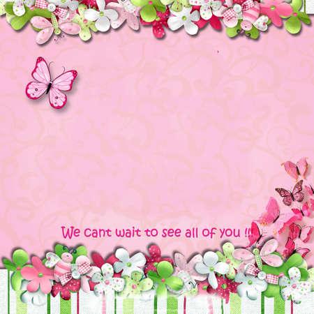 card: Birthday card Stock Photo