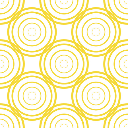 wrappers: Vector illustration of seamless pattern with circles Illustration