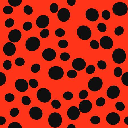 polkadot: Ladybug pattern.