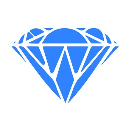 Abstract diamond, vector illustration Illustration