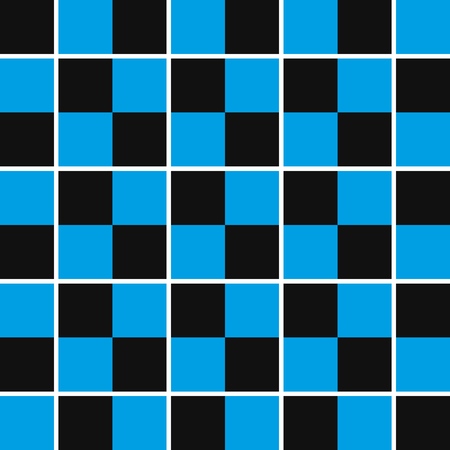 Checkered seamless pattern. Vector illustration. Abstract geometric background.