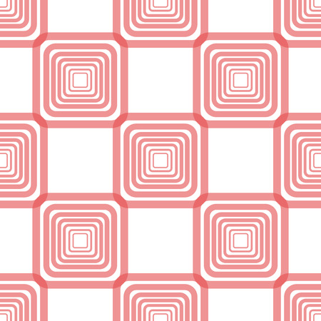 Pretty pastel vector seamless pattern (tiling, with swatch). Endless texture can be used for wallpaper, fill, web background, texture. Abstract ornament. Square and diamond shape.
