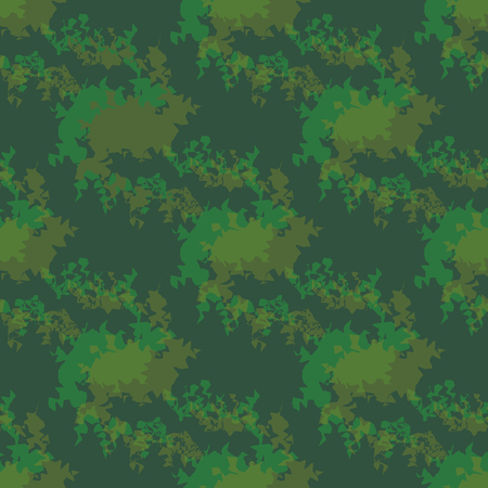 Camouflage seamless pattern. Illustration