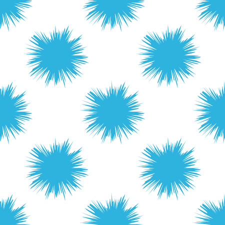 Seamless pattern with water drops. Abstract modern vector background. Illustration