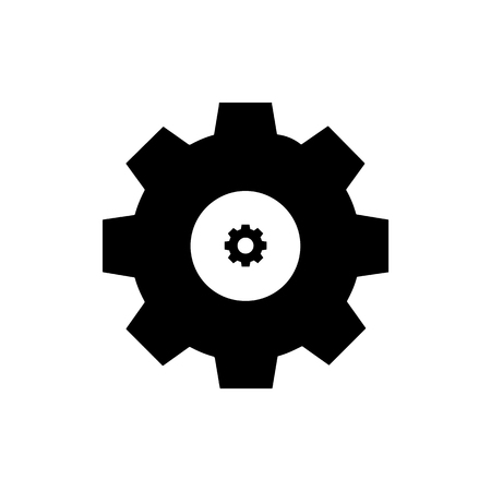 Vector circle icon on gray background. Eps 10 Vectores
