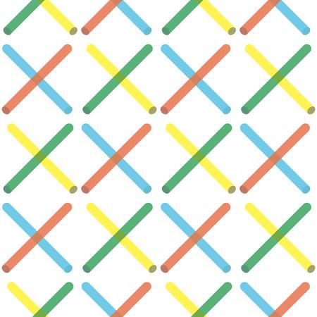 Retro memphis pattern - seamless background. Fashion 80-90s. Black stick mosaic texture.