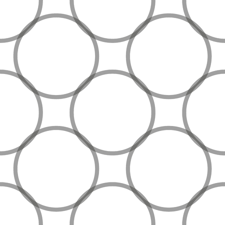 Seamless abstract vintage vector pattern with black dotted circles on white background. Abstract motif. Can be used for fabric,cloth,textile,wallpaper,templates,scrapbooking,covers and home decor.